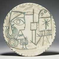 Large Round Plate - Pablo Picasso