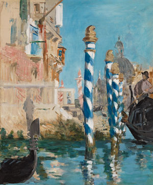Manet View in Venice